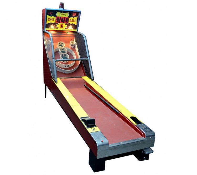 Skee Ball Classic Arcade