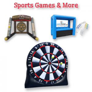 inflatable sports game rentals