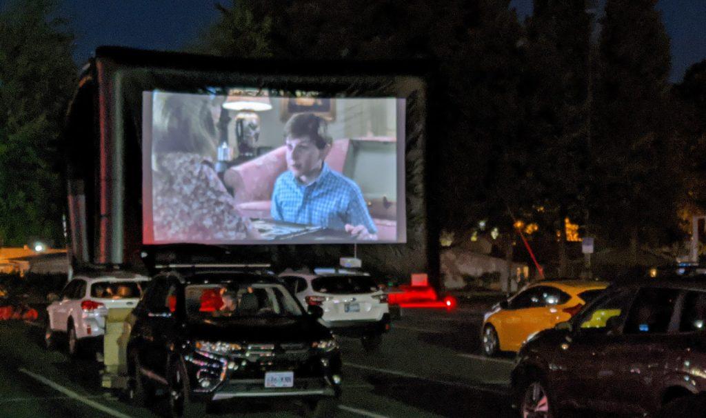 drive in movie rental