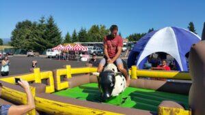 inflatable bull rental