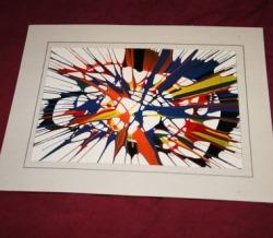 SpinArt Cards & Frames